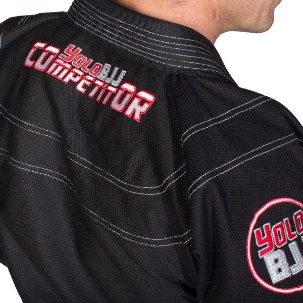 Comp450 BJJ gi Black