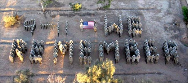 9-11_spelled_out_by_marines