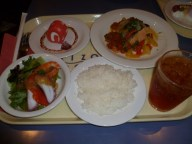 Five course meal from Disney Sea