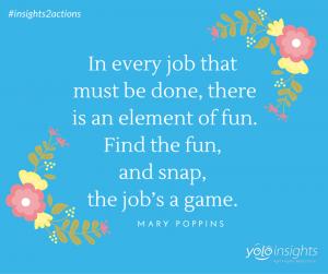 Make work fun!