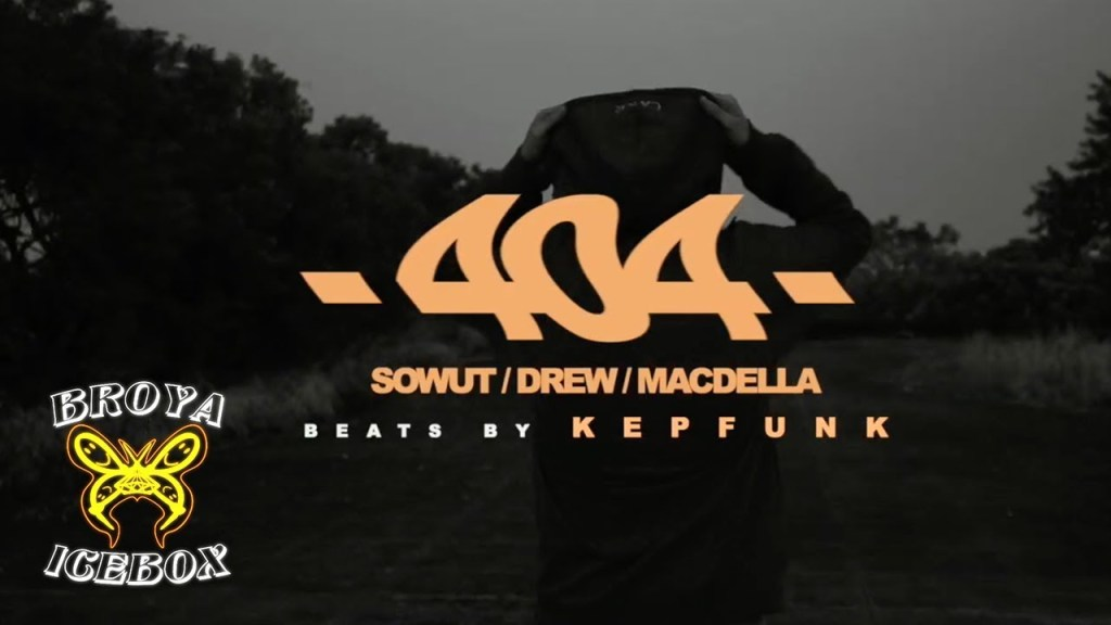 Drew - 404 ft.Macdella,Sowut (Dir.by @VincentWang)  歌詞 16