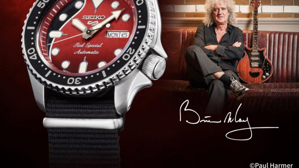 40年來的記憶!Queen 皇后樂團吉他手 Brian May 與 日本 Seiko 聯名經典腕錶即將上市 |全球限量九千隻 12