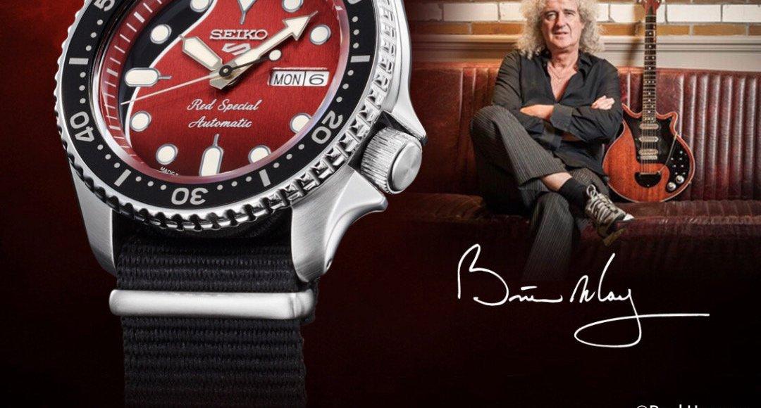 40年來的記憶!Queen 皇后樂團吉他手 Brian May 與 日本 Seiko 聯名經典腕錶即將上市 |全球限量九千隻 4