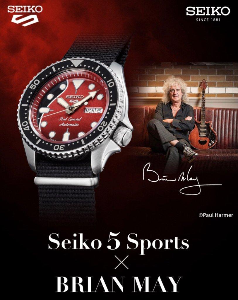40年來的記憶!Queen 皇后樂團吉他手 Brian May 與 日本 Seiko 聯名經典腕錶即將上市 |全球限量九千隻 5