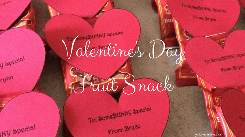 Valentine's Day Fruit Snack