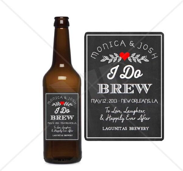 Custom Beer Neck & Bottle Label Decor Yolo Party Supplies