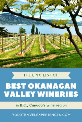 B.C. vineyards
