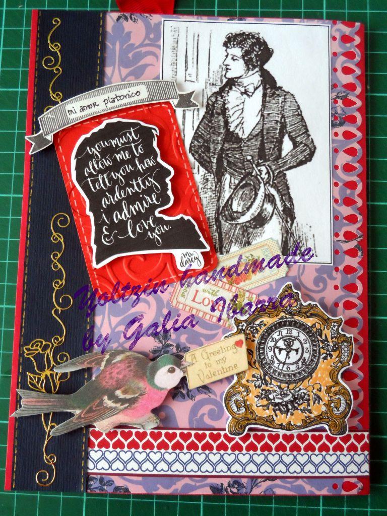 Mr. Darcy - Mi amor platonico - Yoltzin handmade