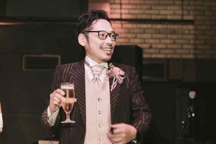 結婚式男性