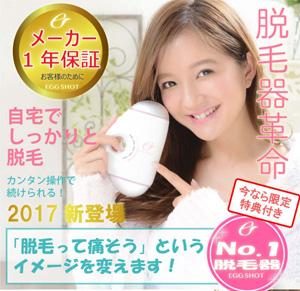 美容家電カタログ「エッグショット」の詳細