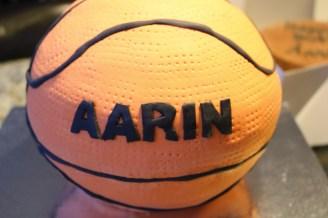 first basketball cake :)