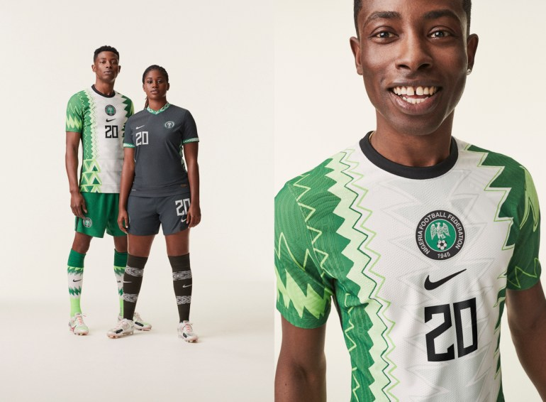 Nike unveils the new Nigeria 'Super Eagles' 2020/2021 Kits