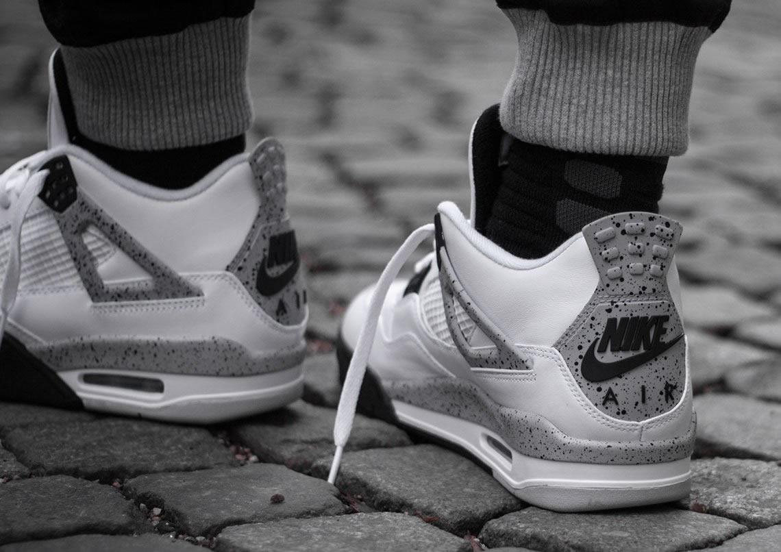 """WHERE TO BUY: Nike Air Jordan 4 OG """"White Cement"""" This"""