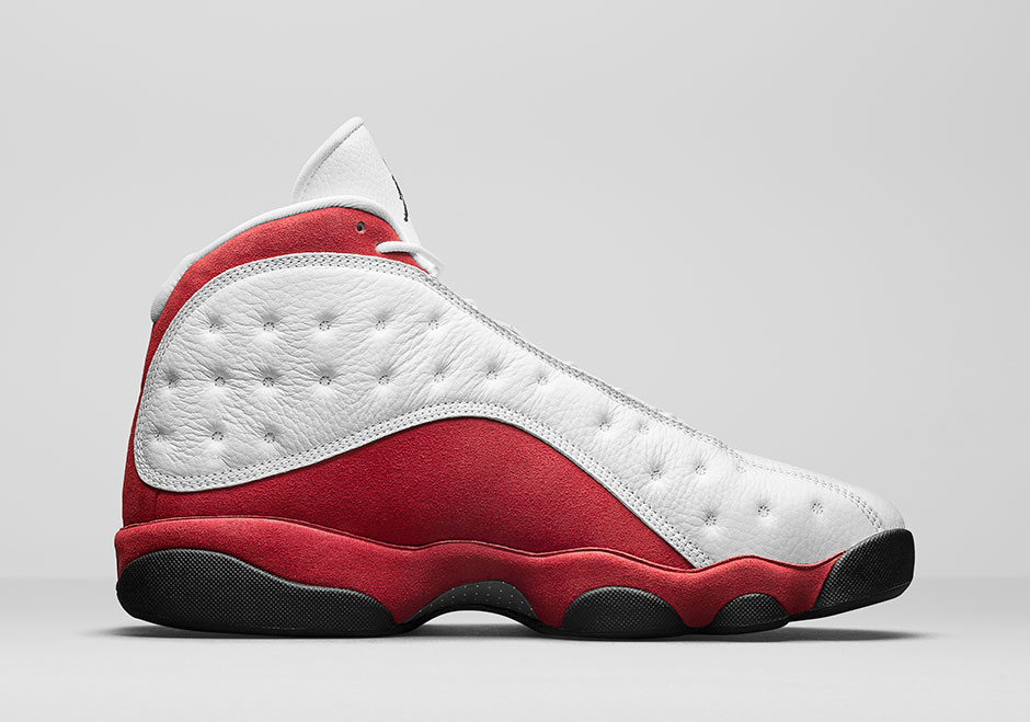 """8e1f95ccb68 AIR JORDAN 13 OG """"CHICAGO"""". Dressed in the classic Chicago Bulls color  scheme. This Air Jordan 13 a White tumbled upper that runs up the tongue ..."""
