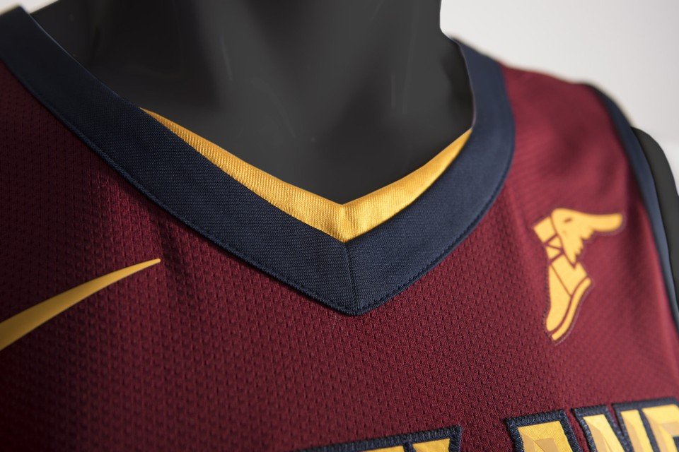 3c22caa66 Cleveland Cavaliers unveil new Nike uniforms for 2017-18 NBA season ...