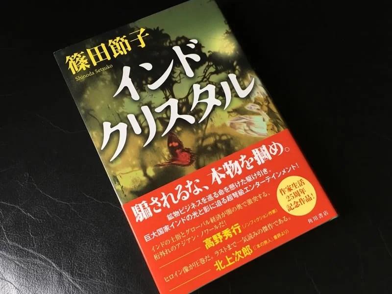 篠田節子『インドクリスタル』