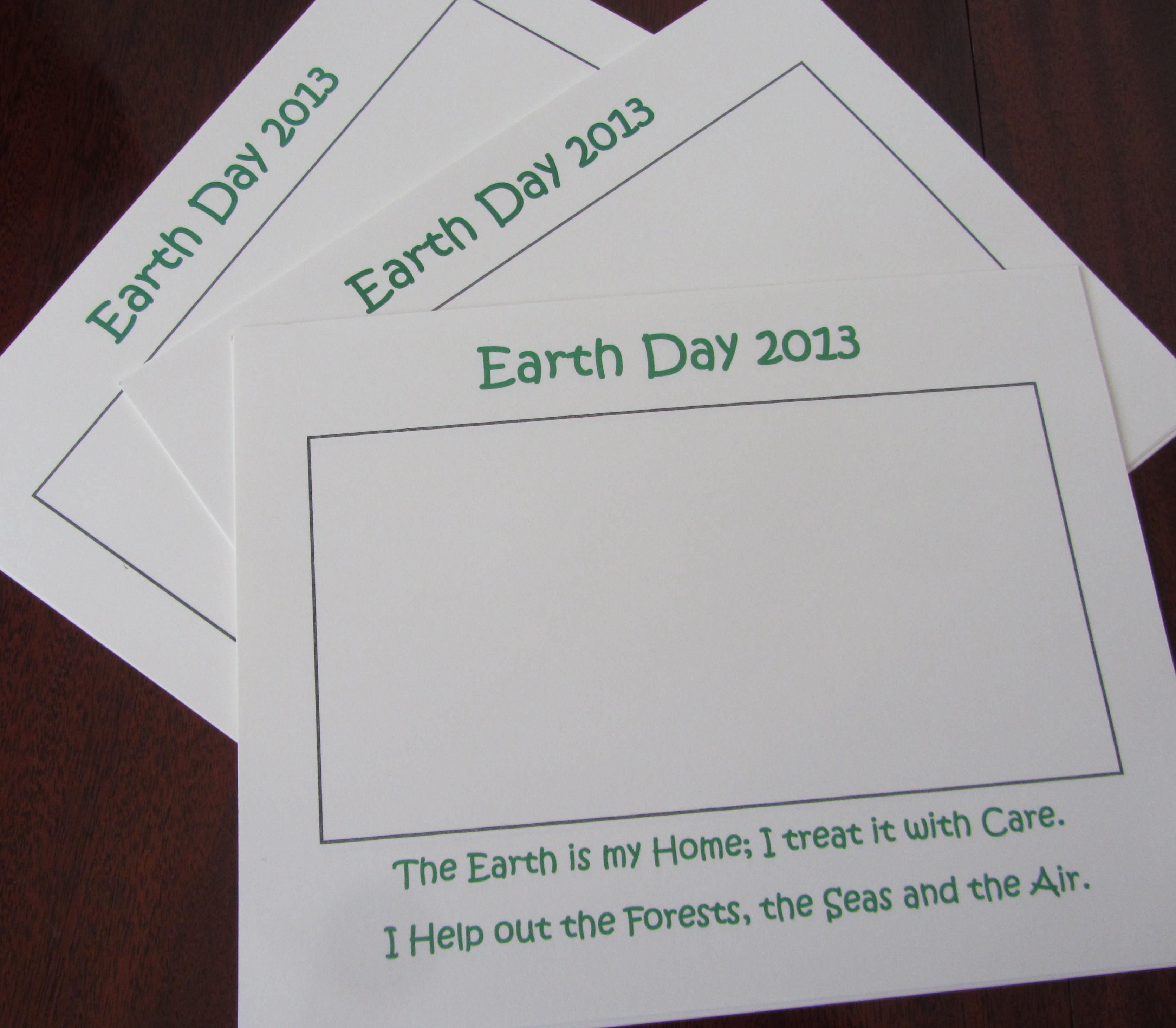 Earth Day Activities For Kindergartners