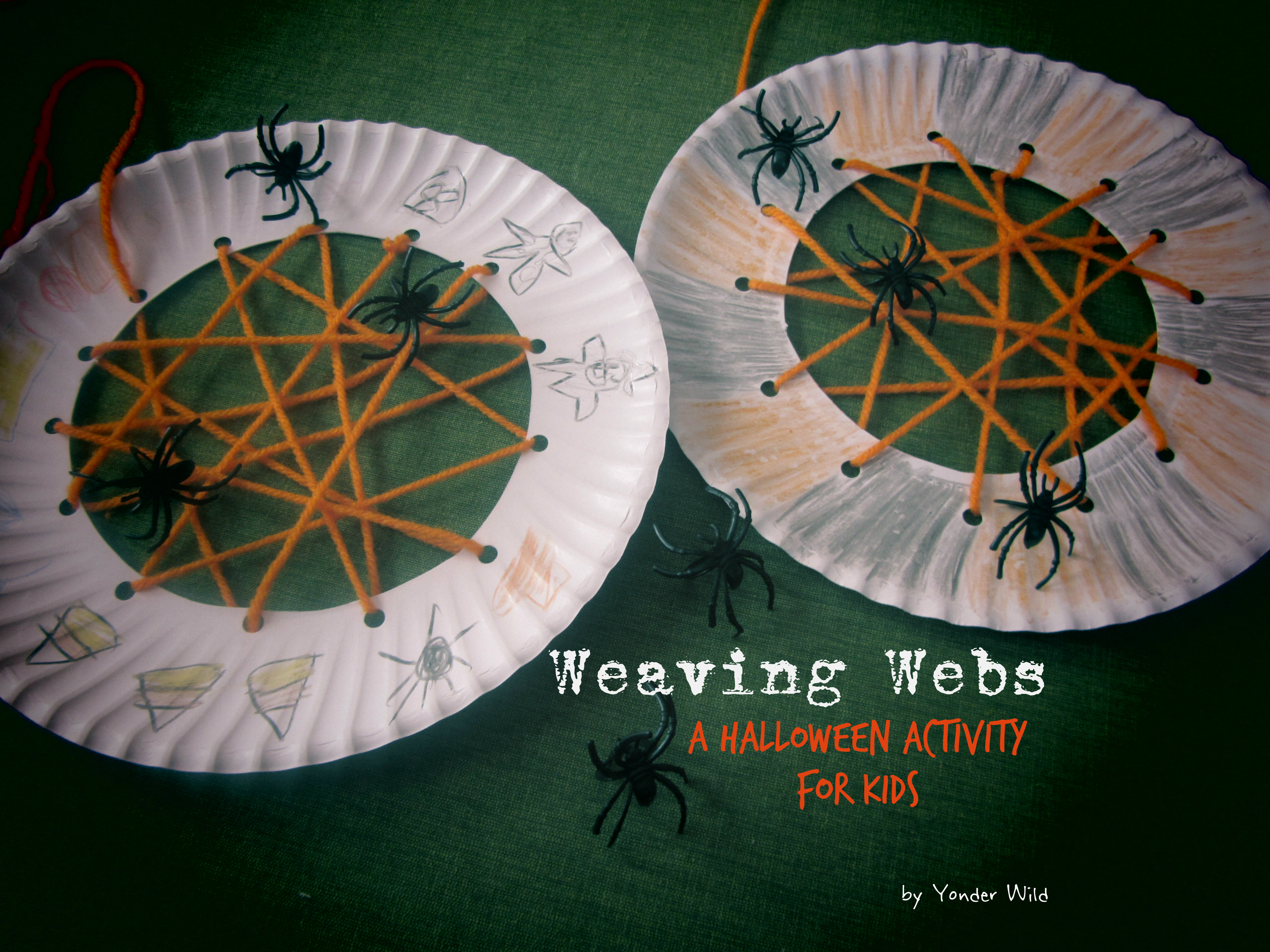 Weaving Webs A Halloween Activity For Kids