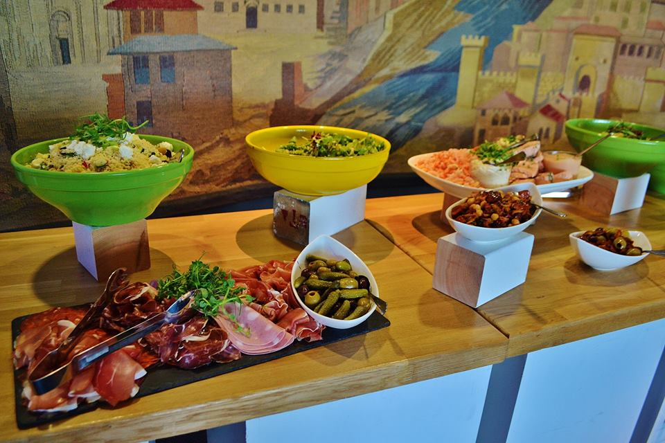 Jockey Club Catering Buffet