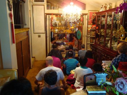 Attending Green Tara Retreat