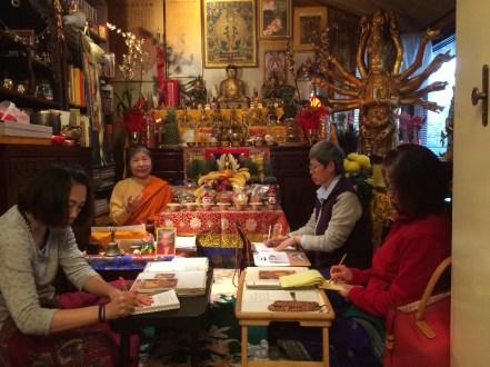Dorje Palmo Teaching at Retreat