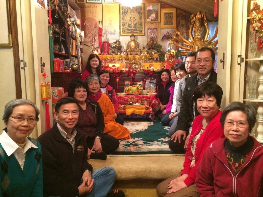 Guru Rinpoche Tsok Group