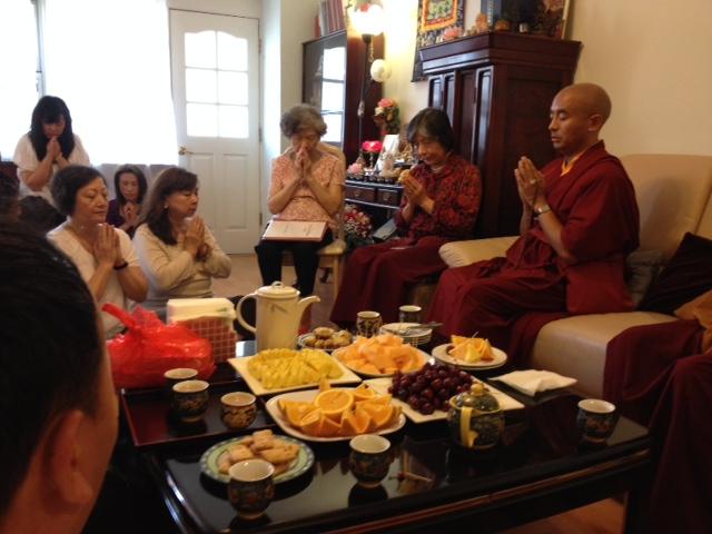 Prayer at Center