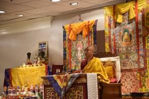 Rinpoche Explaining Empowerment