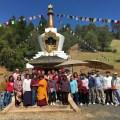 Group at Stupa