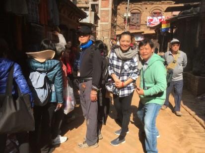 38 Shopping at Bhaktapur