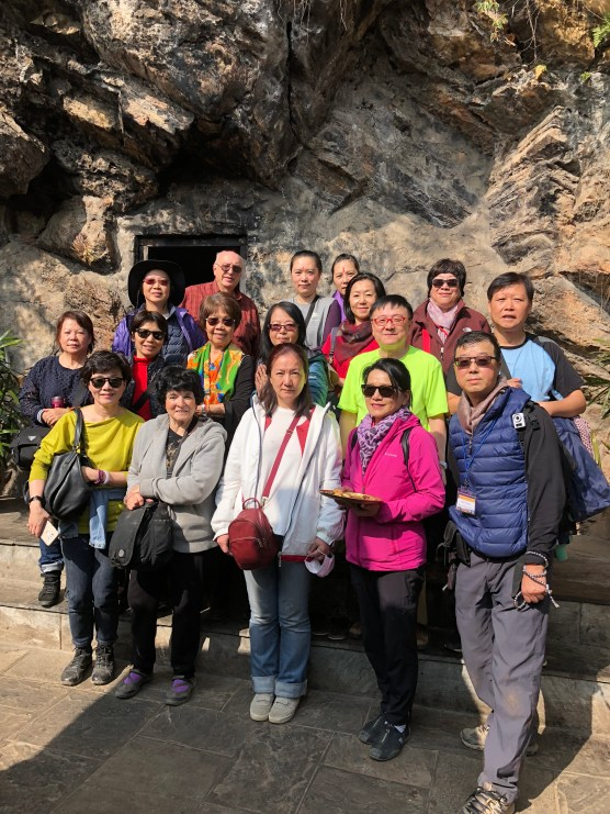 46 Group at Guru Rinpoche Cave