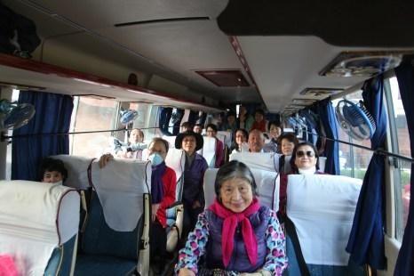 6 Riding the Bus at Lumbini