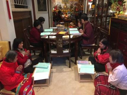 Stupa Sutra Chanting