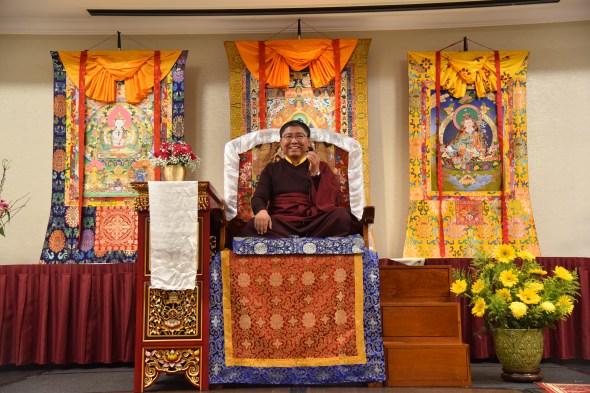 1. Tsoknyi Rinpoche Teaching