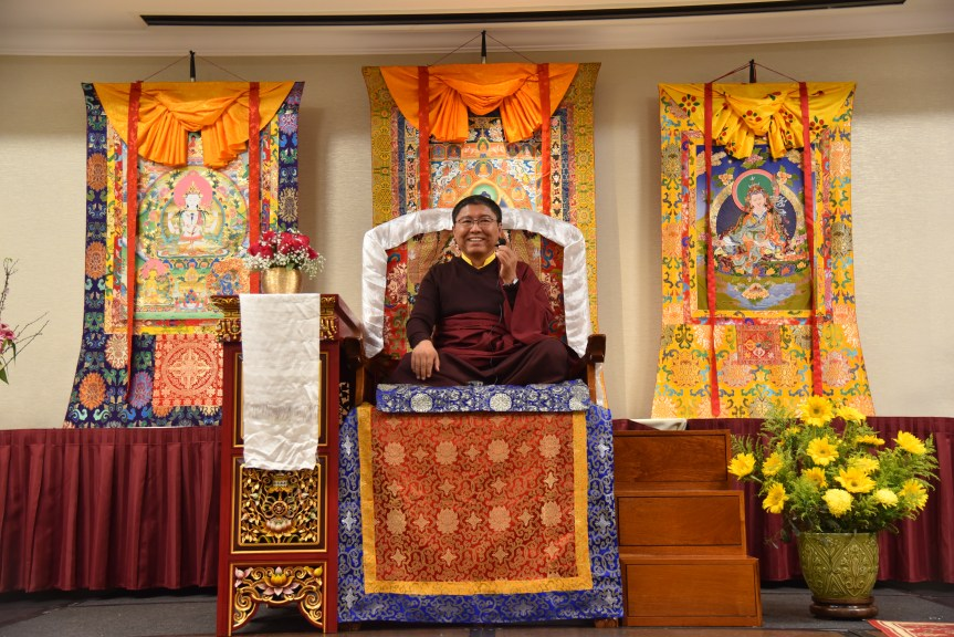 1. Tsoknyi Rinpoche Teaching