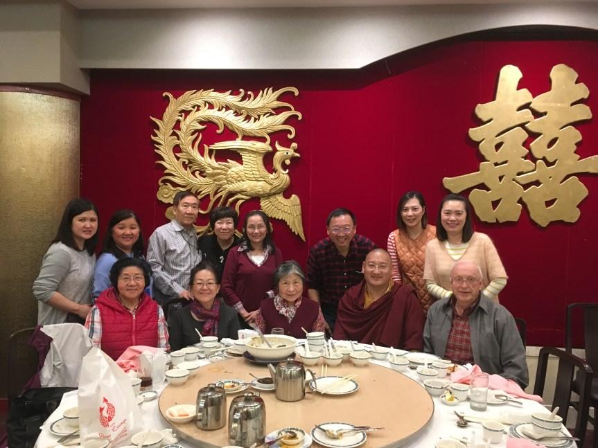 1 - Welcome Dinner for Khenpo Gyurme