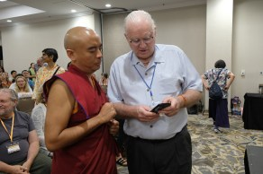 13 Rinpoche with Edwin Kelley