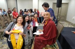 18 Thanking Rinpoche