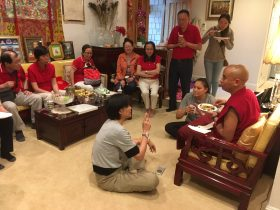 22 Dinner with Rinpoche