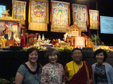 4 Visit with Tsoknyi Rinpoche at Initiation