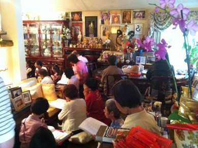 Group at Buddha Birthday
