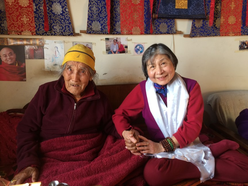 7. Dorje Palmo with Rinpoche's Grandfather