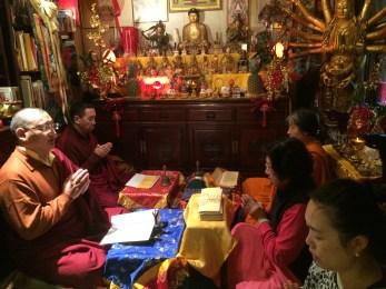 Chanting with Khenpo Gyurme