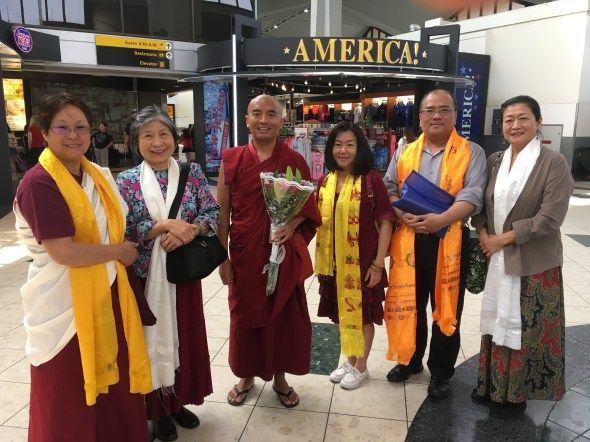 Welcome Rinpoche