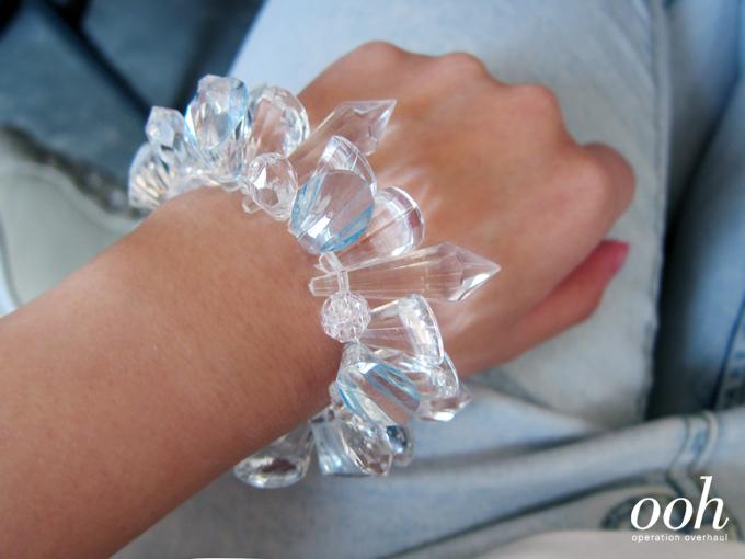 operationoverhaul - crystal bracelet