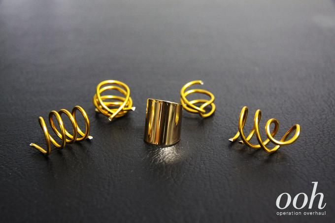Operation Overhaul DIY Balenciaga Inspired SS Rings