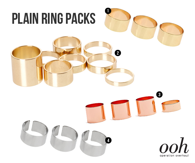 Operation Overhaul plain ring packs