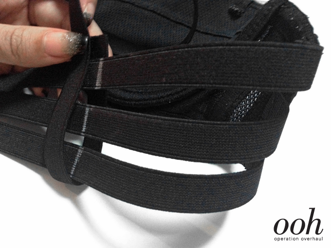 8 Operation Overhaul - Elastic Strappy Bra Loop Shoulder Strap