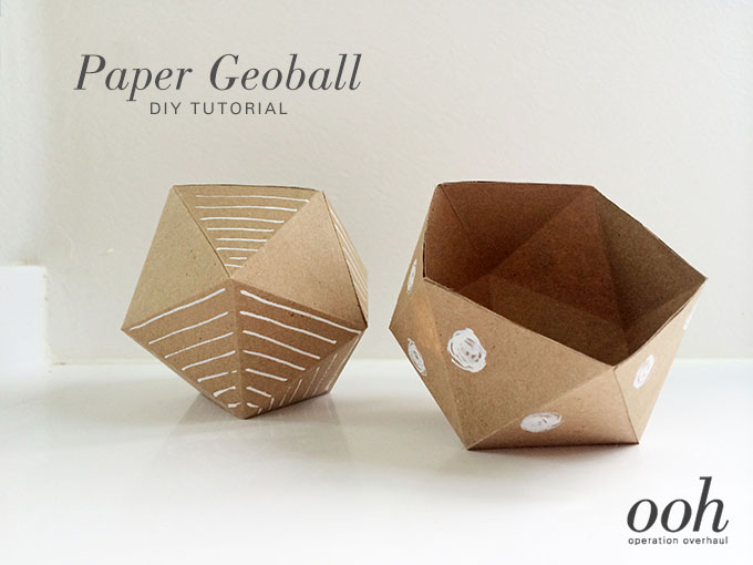 OOH - Paper Geoball Tutorial