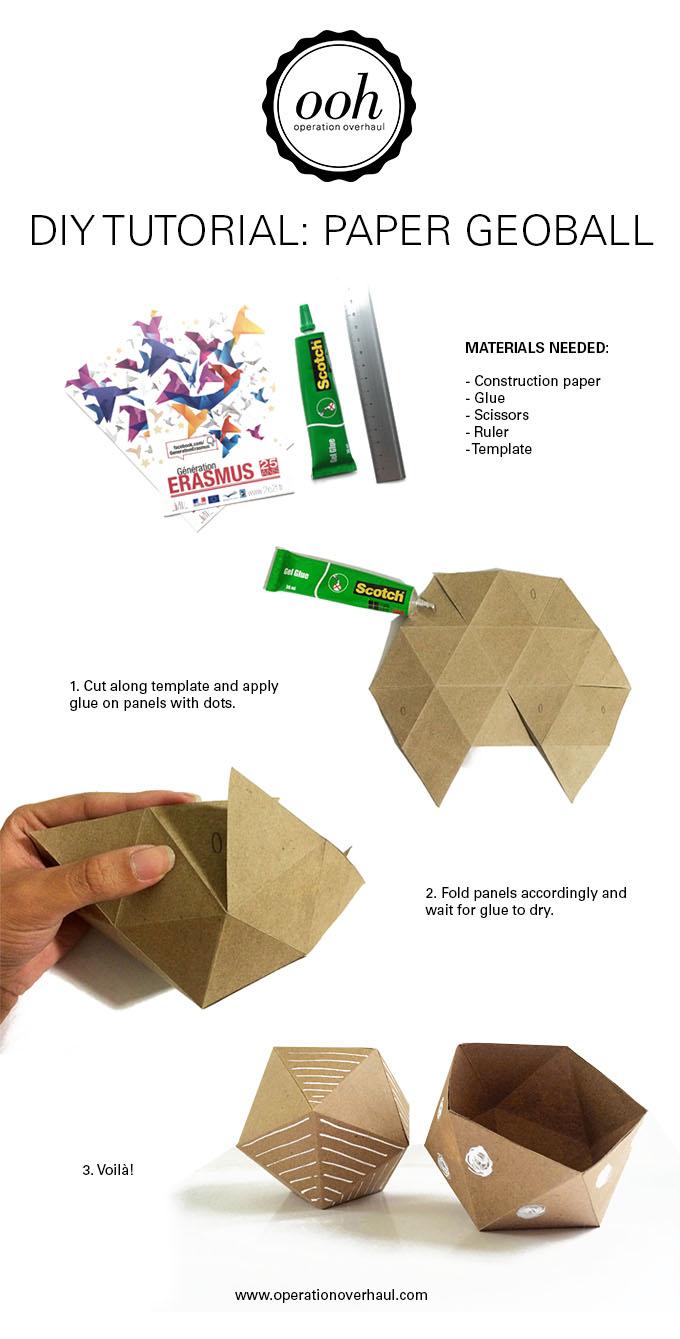 OOH - Paper Geoball